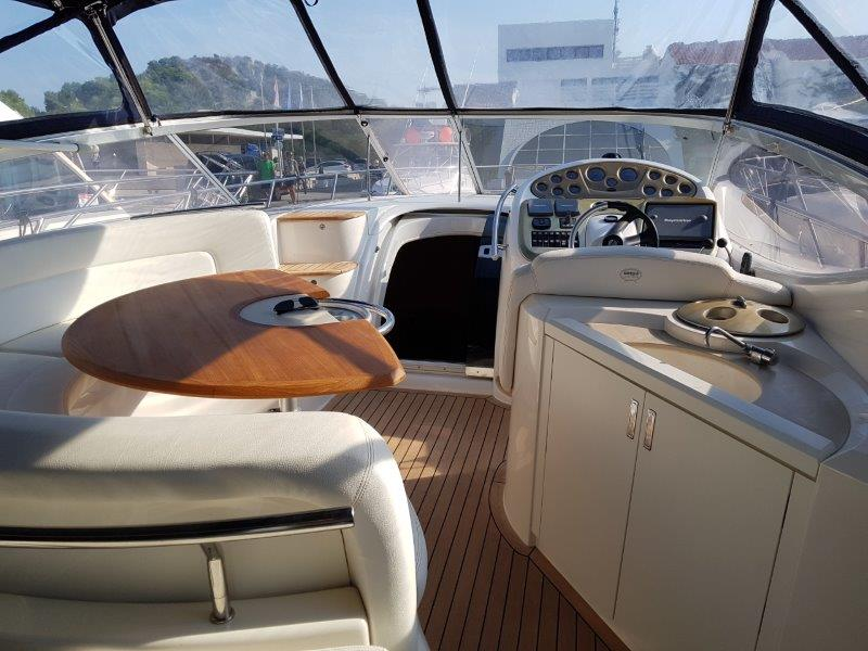 Sessa Oyster 42 cockpit