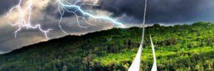 Schaden durch Blitzschlag